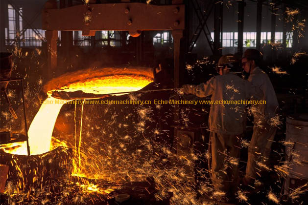 Echo Machinery Pouring Casting Photo